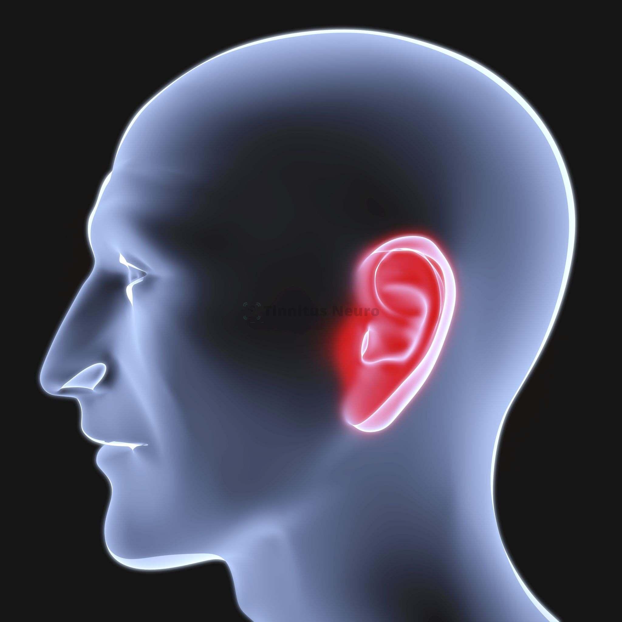 Односторонний шум в голове нередко появляется по причине воспаления