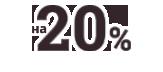 - 20%