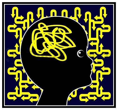 Диссоциация мозговой деятельности у ребена