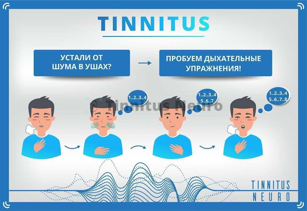 Тиннитус отступает от дыхательных упражнений