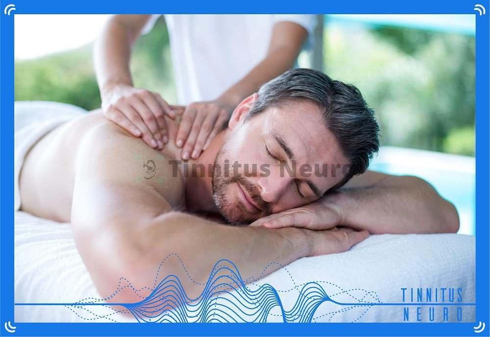 Лечение шума в ушах расслабляющим массажем