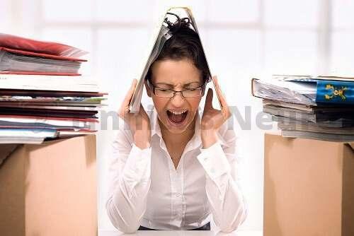 Стресс и шум в ушах приходят часто вместе