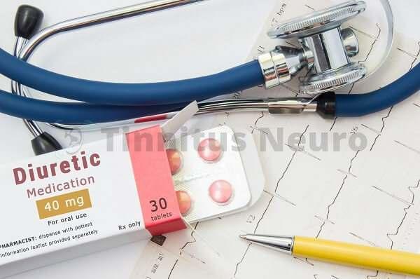 Мочегонные диуретики - одна из причин шума в ушах