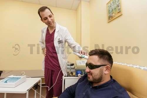 Процедкура лазеротерапии тинитуса